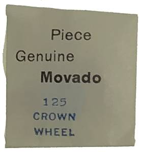 Movado Calibre 125 - #420 Crown Wheel - Image 1
