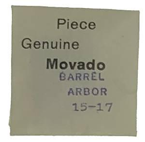 Movado Calibre 15/17   #195 Barrel Arbor - Image 1