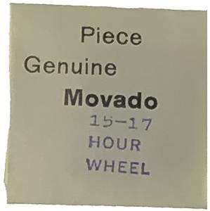 Movado Calibre 15/17 #250 Hour Wheel - Image 1