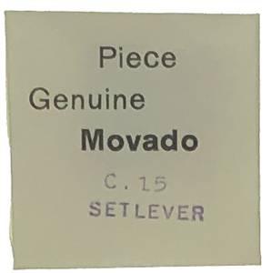 Movado Calibre 15   #443 Set Lever - Image 1