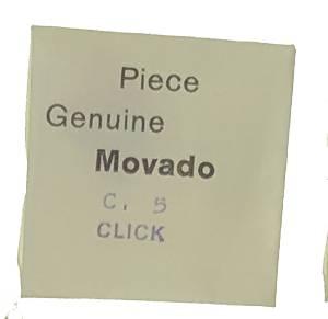 Movado Calibre 5   #425 Click - Image 1