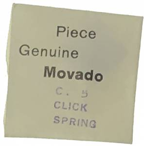 Movado Calibre 5   #430 Click Spring - Image 1