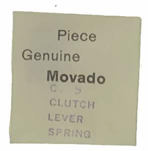 Movado Calibre 5   #440 Clutch Lever Spring - Image 1