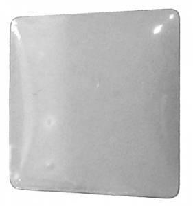 "Pam Ad Clock 15"" Square Convex Glass - Image 1"