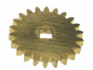 26.0mm x 22 Tooth Brass Gear - Image 1