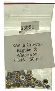 Watch Crown 50-Piece Assortment - Image 1