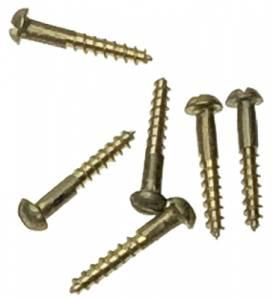 "Brass Wood Screw #0 x 3/8""  25-Piece Pack - Image 1"