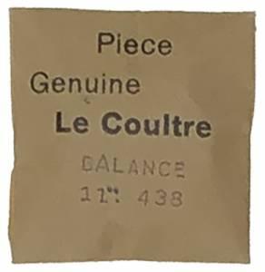 Jaeger-LeCoultre Balance Complete #438 - Image 1