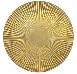 Brass Sunburst Case Ornament - Image 1