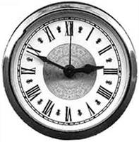 "78mm (3-1/16"") Roman Fancy Ivory Dial Alarm Fit-Up - Image 1"