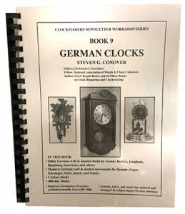 German Clocks Book #9 by S. Conover - Image 1