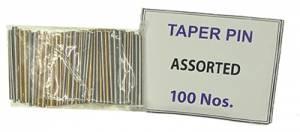 "Brass & Steel 1"" Taper Pin Assortment - Image 1"