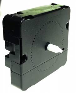 "Mini Continuous Sweep Alarm Movement for Push-On Hands - 7/16"" (11.5mm) Hand Shaft - Image 1"