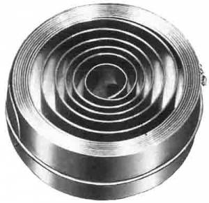 ".984 x .0177 x 88.5"" Hole End Mainspring - Image 1"