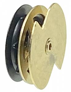 PM-32 - Brass Music Movement Cuckoo Drive Wheel - Image 1