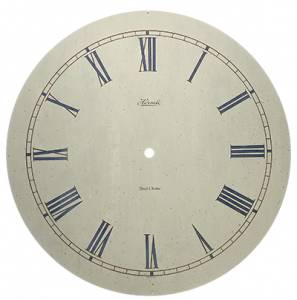 "Hermle Speckled 12-5/8"" Dial With 10-3/4"" Time Track - Image 1"