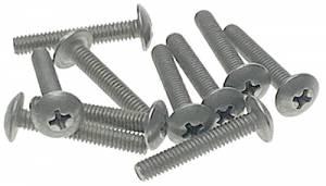 "Hermle #8-32 x 1"" Phillips Truss Head Machine Screw   10-Piece Pack - Image 1"