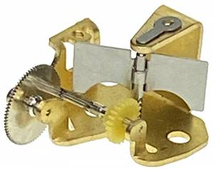 Brass Music Movement Governor For 22, 28, And 37-Tooth Music Movements - Image 1