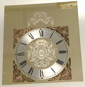 Hermle Gold Etched Rectangular Dial - Image 1