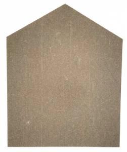 Hardboard Case Backboard - Black/Oak - Image 1