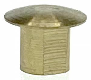Hermle Brass M3.5 Weight Shell Bottom Nib - Image 1