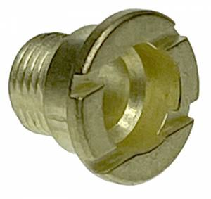Hermle Brass Fixation Nut  M8 x 9mm Long - Image 1