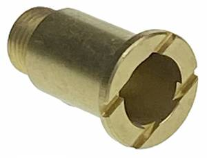 Hermle Brass Fixation Nut  M8 x 19.5mm Long - Image 1