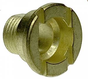 Hermle Brass Fixation Nut  M10 x 7.0mm Long - Image 1