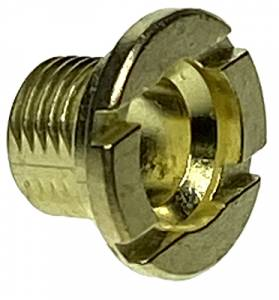 Hermle Brass Fixation Nut  M8 x 7mm Long - Image 1