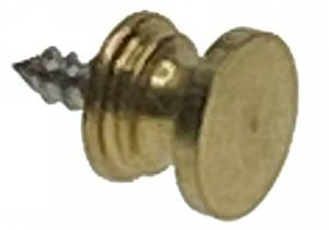 Antiqued Brass Hermle Door Pull - Image 1