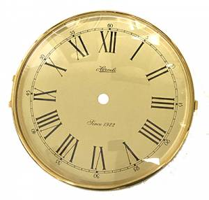 """Hermle 6-3/16"""" Dial, Bezel, Convex Glass Assembly - Image 1"""