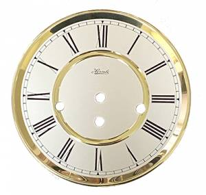 "Hermle 7"" Quartz Regulator Dial/Bezel Combination - Image 1"