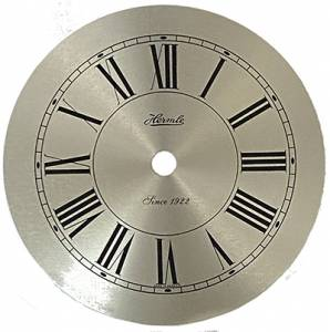 "Hermle 4-7/8"" Brushed Silver Roman Dial - Image 1"