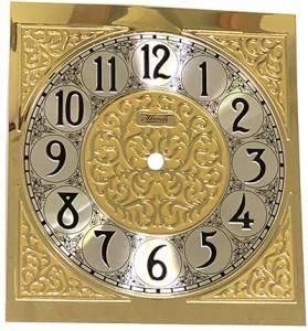 """Hermle 6-11/16"""" W x 7-1/4"""" T Fancy Arabic Dial - Image 1"""