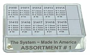 DAKAT-6 - American Brass KWM Bushing Assortment-No. I - Image 1