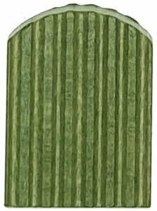 SCHWAB-14 - 20 X 25mm Green Cuckoo Door - Image 1