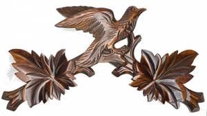 "13-3/4"" Brown Cuckoo Top - Image 1"