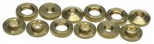 HERR-93 - 12-Piece Brass Hubert Herr Hand Nut Assortment - Image 1