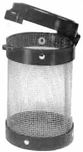 """CUBA-40 - 4-1/4"""" Premium Parts Basket - Image 1"""
