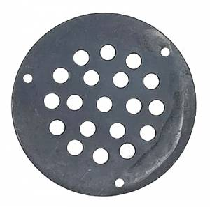 "2-1/16"" Blackened Speaker Grill For Quartz Movements - Image 1"