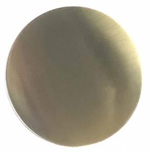"4-1/2"" (115mm) Polished Brass Bob - 3/4"" Rear Slot - Image 1"