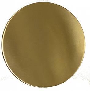 "4-1/2"" (115mm) Brushed Brass Bob - 3/4"" Rear Slot - Image 1"