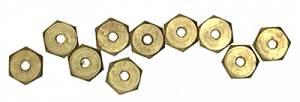 M1.6 Brass Hex Nut   10-Piece Pack - Image 1