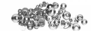 CAMBR-93 - Nickeled Flat Washer 100-Piece Assortment - Image 1