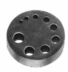 CAMBR-74 - Clockmaker's 9-Hole Riveting Stake