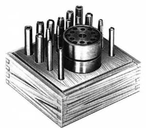 CAMBR-74 - Clock Punch & Staking 16-Piece Set