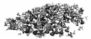 CAMBR-93 - Alarm Clock Screw 100-Piece Assortment