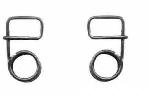 GROBET-32 - Cuckoo Wheel Coil Spring   Right Strike Side