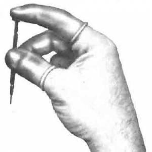 GROBET-99 - Latex Finger Cots  12-Pack - Image 1