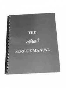 H/A-87 - Hermle Service Manual By Roy Hovey - Image 1